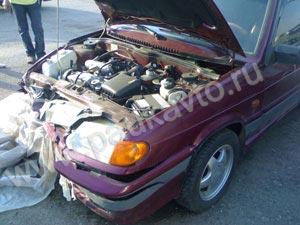 ремонт передней части ВАЗ 2115
